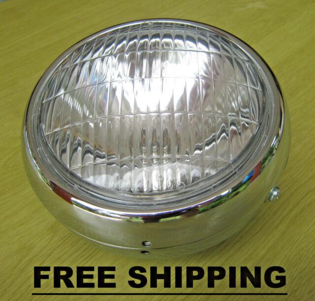 Yamaha Chappy LB50 LB80 LB 50 80 Headlight & Case & Bulb & Socket  FREE SHIPPING