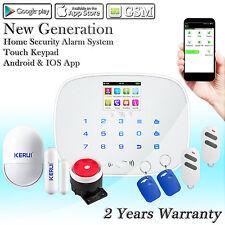 G19 RFID GSM SMS Automatikwahl Kabellos Zuhause Sicherheit Alarmanlagen Sirene