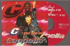 CAPPELLA i need your love CD SINGLE france french card sleeve
