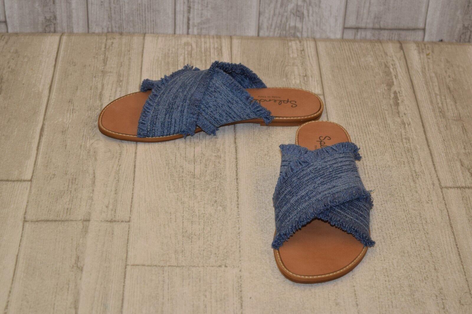 Splendid- Fulton Slide Slide Slide Sandals, Donna  Dimensione 8, blu 24d22d