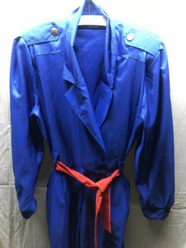 Royal Walters 1990s Jumpsuit Joan Blue 100 polyester qSfxPwz