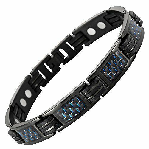 Willis Judd Magnet-Therapie-Armband als Magnetschmuck Armband Herren blaue
