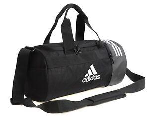 bcaba344ec6a Adidas 3S Training Core X Small Duffle Bags Running Black GYM Bag ...
