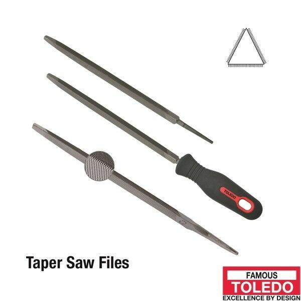 TOLEDO Slim Taper Saw Second Cut - 250mm 6 Pk 10ST02BU x6