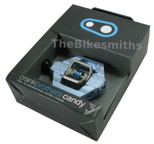 Crank Brothers Candy 3 Clipless Bike XC Trail Pedals /& Cleats Bros Choose Color