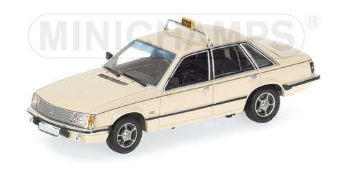 Opel senator 1980 taxi 1 43 model minichamps
