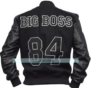 hombre de Metal Solid Flight Diamond Bomber Black Varsity Chaqueta 3xl para Xxs Gear Dogs 6pwqxanHt