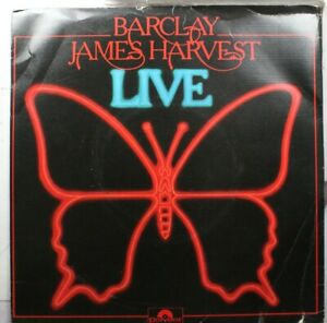 Rock-Picture-Sleeve-Uk-Import-Ep-33-45-Barclay-James-Harvest-Live-E-P-Rock-039-N