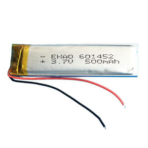 BATER-A-601452-LiPo-3-7V-500mAh-para-telefono-portatil-video-mp3-mp4-luz