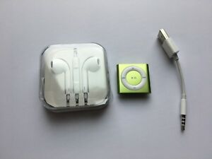 2GB Apple iPod  shuffle 4th Generation Light Blue mint