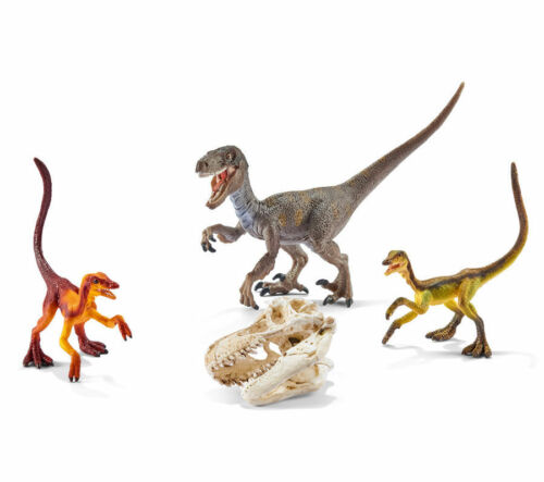 FREE SHIPPINGSchleich 42259 Velociraptor on the Hunt Dinosaurs New n Package