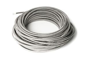 Dash-6-Ptfe-Braided-Stainless-Steel-Brake-Lines-1m-0-5-16in-AN6-JIC6