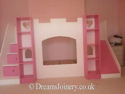 Kenilworth Castle, Prince / Princess Bunk or Cabin Bed