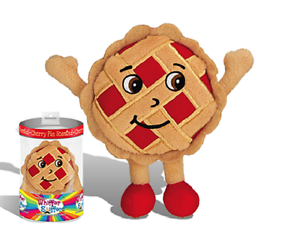 NEW-SUPER WHIFFER SNIFFERS-JERRY PIE-10  VERY SOFT PLUSH-CHERRY PIE SCENTED