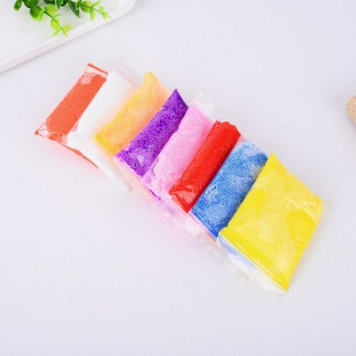Colourful Snow Mud Fluffy Foam Slime Putty Kids Toy Stress Relief Toy Gifts Safe