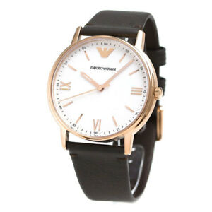 EMPORIO-ARMANI-WHITE-DIAL-BROWN-LEATHER-STRAP-AR11011-MENS-WATCH
