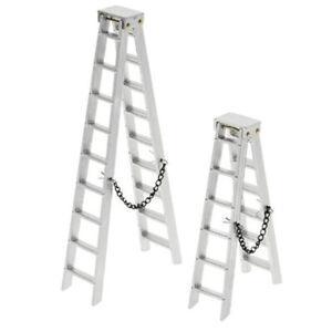 100MM 150MM Aluminum Mini Ladder for 1:10 RC Rock Crawler Axial SCX10 90046SJnd