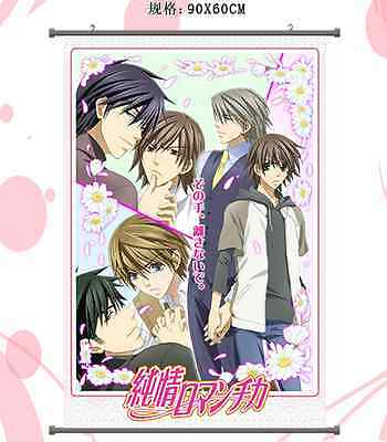 Junjou Junjo Romantica Pure Romance Home Decor Anime Japan Poster Wall Scroll 1