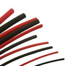 Heatshrink TUBING Rosso Nero 6 METRI PACK KIT Sleeving