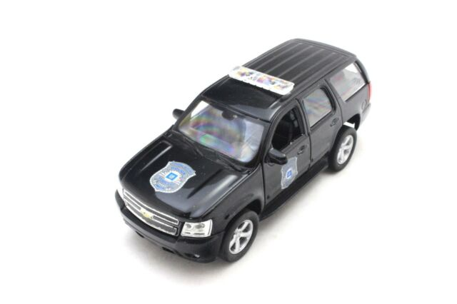 WELLY DISPLAY 2008 CHEVROLET TAHOE POLICE 1/32 NEW WITHOUT BOX