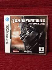 Transformers Decepticons Nintendo DS Game Activision