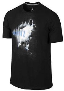 143c36c78e2721 Air Jordan Retro 11 XI Legend Blue Black White Sonic T-Shirt Mens ...