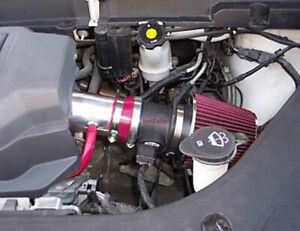BCP BLK 2007 2008 2009 Acadia Enclave Outlook Traverse LS 3.6L Short Ram Intake