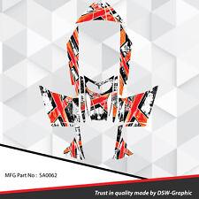 SLED WRAP GRAPHICS KIT DECAL STICKERS SKI-DOO REV MXZ SNOWMOBILE 03-07 SA0062