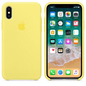 quality design 16c78 bbffe Details about Lemonade GENUINE ORIGINAL Apple Silicone Case NEW iPhone X  RRP $39