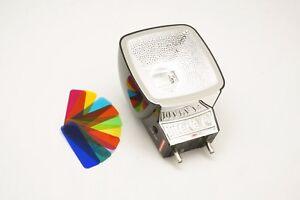 Lomography-Used-Black-Diana-F-Flash-Unit-and-Color-Gels