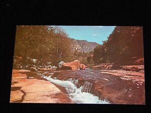 Vintage-Postcard-SEDONA-ARIZONA-AZ-Slide-Rock-Old-Creek-Canyon-To-Richland-WA