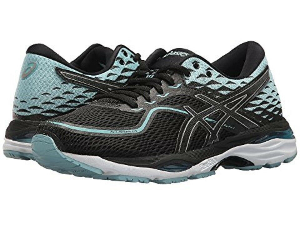 ASICS T7B8N.9014 GEL-CUMULUS® 19 Wmn's (M)Black bluee Mesh Synthetic Running shoes