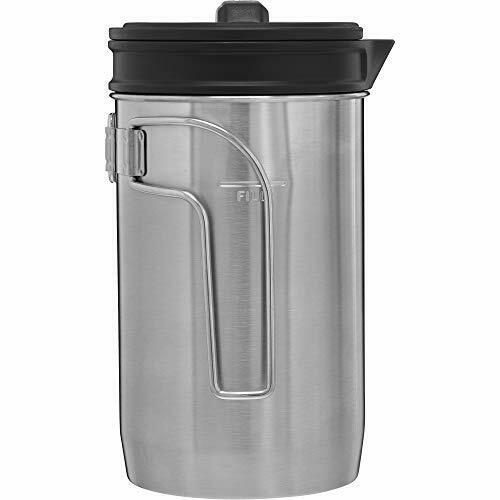 New Brew French Press Stanley Adventure All-In-One Boil Silver 32oz