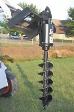 Lowe Bp 210 Round Auger Drive Digger With 12 Wide Auger Bit Fits Skid Steer Qa