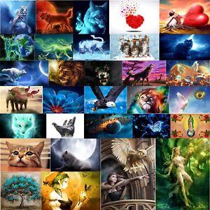 Hazlo-tu-mismo-5D-lobo-animales-Diamante-Bordado-de-pintura-de-decoracion-de-mosaico-kits-de-punto