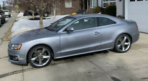 2008 Audi A5 S-Line AWD with a 3.2 Quattro Manual