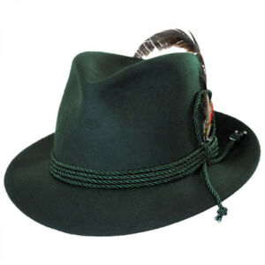 454bf74b6 Details about Jaxon Hats Made in the USA - Classics Bavarian Wool Felt Hat