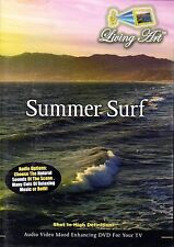 Living Art SUMMER SURF: VIRTUAL ISLAND BEACH WAVES MOOD ENHANCING RELAXATION DVD