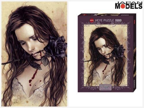 Heye Puzzle 29430 Favole Victoria Frances DARK ROSE 50Cm x 70Cm 1000 Pezzi New