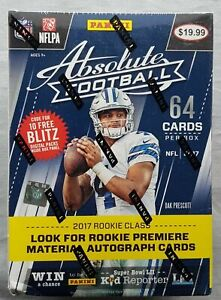 Panini-Absolute-Football-Blaster-2017-Box-NFL-Trading-Cards