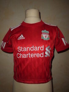 Maillot de football LIVERPOOL FC ADIDAS Taille 2 ans