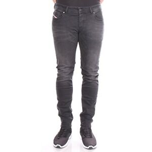 Diesel-Industry-Mens-Troxer-Faded-Black-Faded-Wash-RA468-Slim-Skinny-Jeans-32x32
