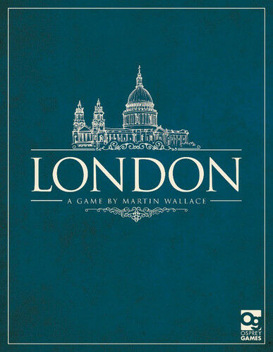 London, Boardgame by Martin Wallace, New by Osprey Games, Games, Games, English Edition 908d6b