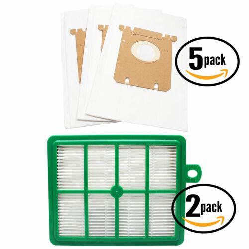 15 Vacuum Bags /& 2 Filter for Electrolux EL6984A UltraSilencer Green