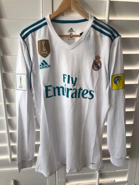 Real Madrid CF home jersey - 2017 FIFA Club World Cup - Long sleeve -  Ronaldo acd8d988c