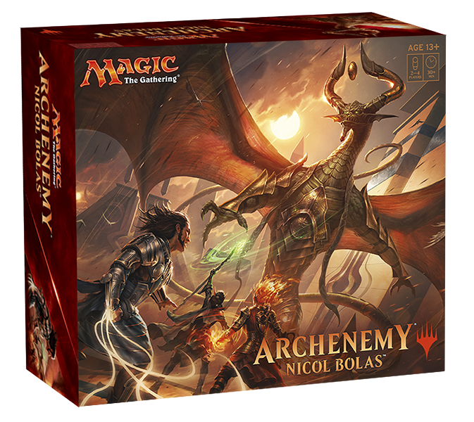 MW| ARCHENEMY: NICOL BOLAS FULL SET -ENGLISH- | MTG WIZARDS OF THE COAST