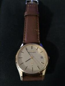 Seiko-Date-Used-King-Quartz-Mens-Watch-Authentic-Working