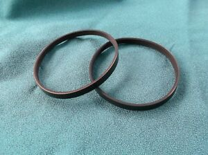2-NEW-DRIVE-BELTS-FOR-RIKON-BAND-SAW-MODEL-10-305-BAND-SAW-MADE-IN-THE-USA