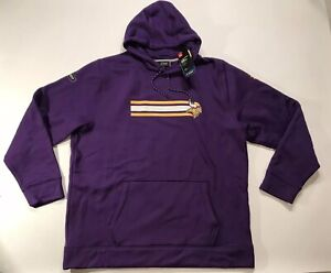 huge discount a3cfa afbbb Details about NWT UNDER ARMOUR STORM Minnesota Vikings NFL Combine Hoodie  Pullover Men's 3XL