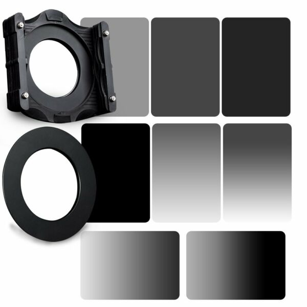 Amical Zomei 4x6in Gnd Gris Nd 2/4/8/16 Filtre Nd 82 Mm Anneau + Support Kit Pour Cokin Z
